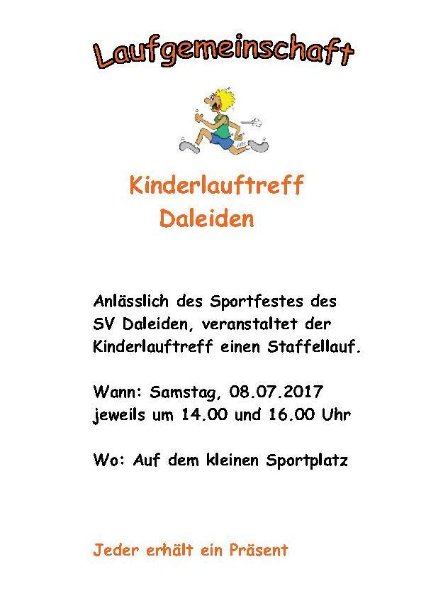 Sportfest SV Daleiden