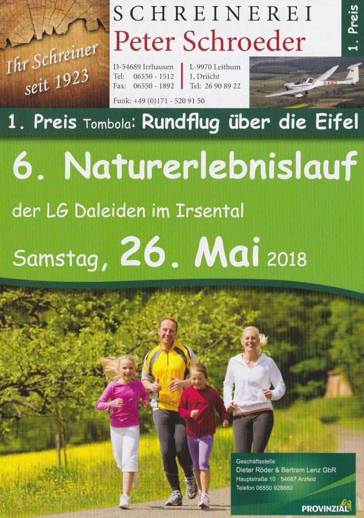 Naturerlebnislauf am 26. Mai 2018